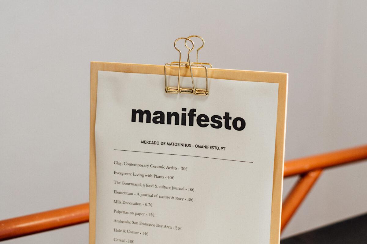 MANIFESTO NA POP-UP DA MARIAMÉLIA